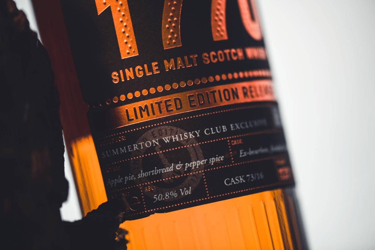 December 2020 – Glasgow 1770, Summerton Whisky Club
