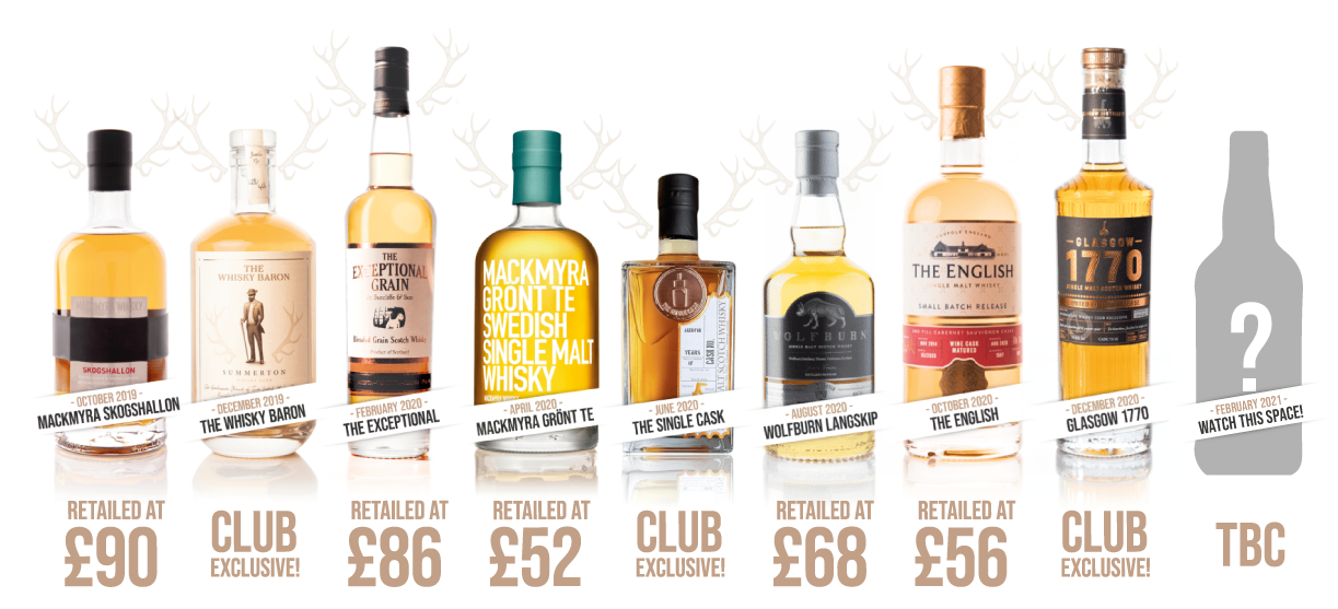 Share a unique whisky with your Valentine, Summerton Whisky Club